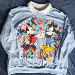 Vintage Disney collared sweater